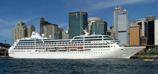 Pacific Princess in Australien. Foto: Princess Cruises
