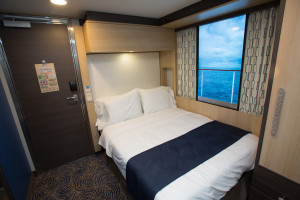 Innenkabinen mit virtuellem Balkon der Quantum of the Seas. Foto: Royal Caribbean International