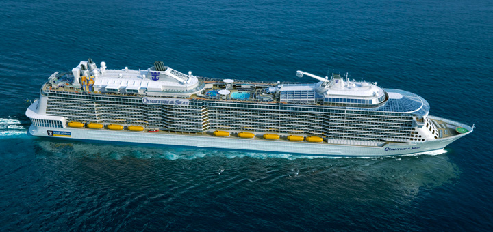 Kreuzfahrt mit der Ovation of the Seas