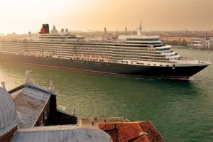 Queen Elizabeth in Venedig, Italien. Foto: Cunard Line