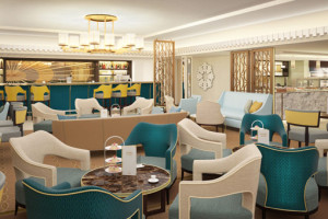 Carinthia Lounge auf der Queen Mary 2. Foto: Cunard Line