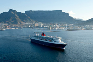 Queen Mary 2in Kapstadt. Foto: Cunard Line