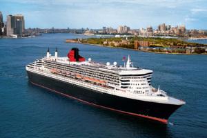 Queen Mary 2 auf Kreuzfahrt in New York. Foto: Cunard Line