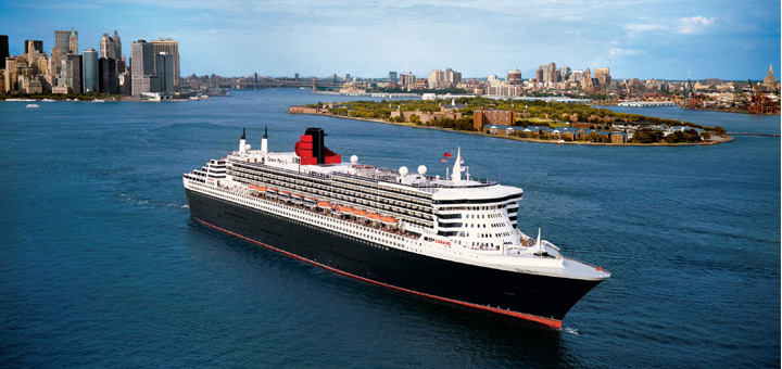 Queen Mary 2 in New York. Foto: Cunard Line