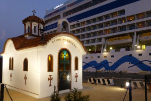 AIDAdiva in Limassol, Zypern. Foto: Cordula Mahr