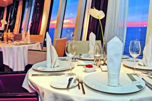 Gourmet Restaurant Rossini bei AIDA. Foto: AIDA Cruises