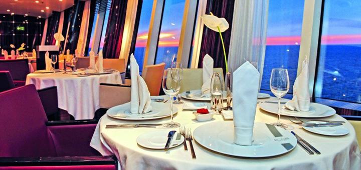 AIDA Restaurant Rossini. Foto: AIDA Cruises