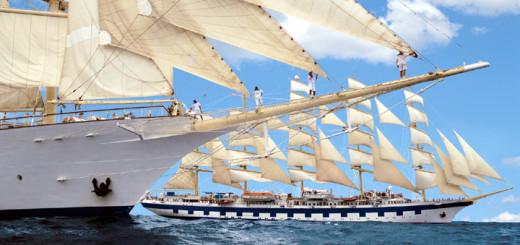 Royal Clipper auf Segelkreuzfahrt. Foto: Star Clippers