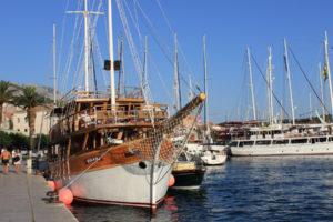 Segelschiff von einer ruf Cruise. Foto: ruf Reisen