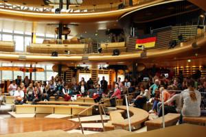 Schiffsbesichtigung vor einer Kreuzfahrt. Foto: Kreuzfahrtpiraten.de