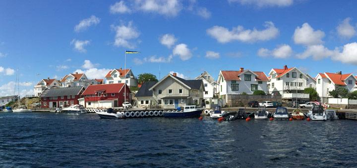 Hafen in Schwedens Schärenwelt. Foto: Martin Schuster / Kreuzfahrtpiraten