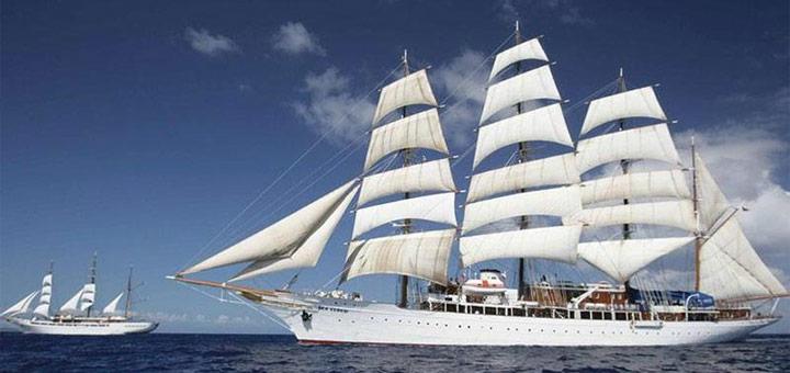 Segelkreuzfahrten mit Sea Cloud Cruises