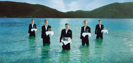 Caviar in the Surf bei Seabourn. Foto: Seabourn