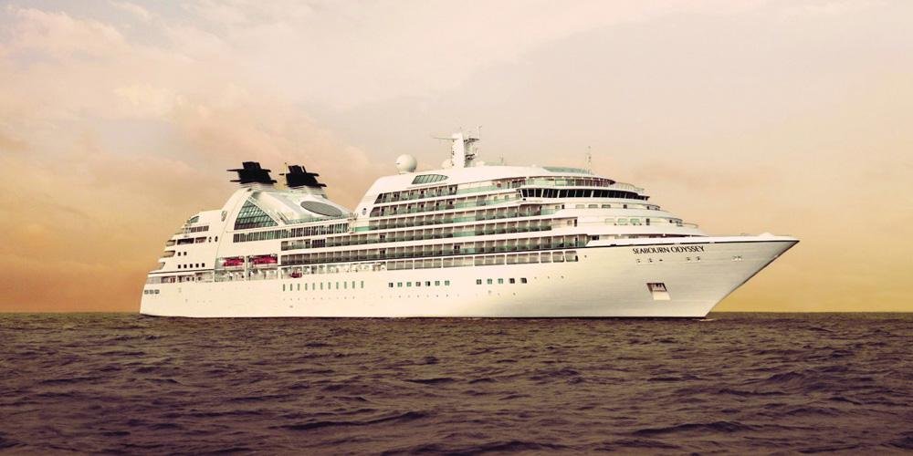 Seabourn Odyssey auf Luxuskreuzfahrt Foto: Seabourn Cruise Line