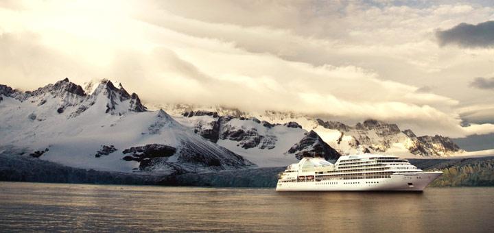 Seabourn Quest in der Antarktis. Foto: Seabourn Cruise Line