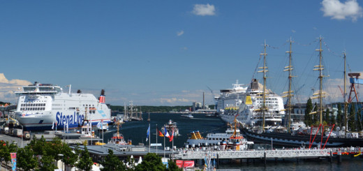 Seehafen Kiel zur Kieler Woche 2014. Foto: Seehafen Kiel