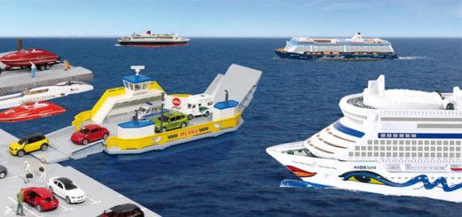 Kreuzfahrtschiffe im SIKU-Sortiment. Foto: SIKU