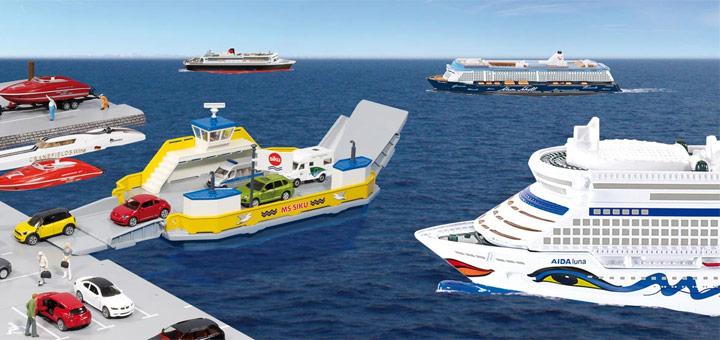 Modelle Von Kreuzfahrtschiffen Kreuzfahrtpiraten