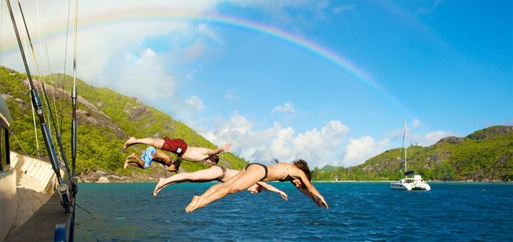 Schwimmen auf Kreuzfahrt mit Silhouette Cruises. Foto: Silhouette Cruises