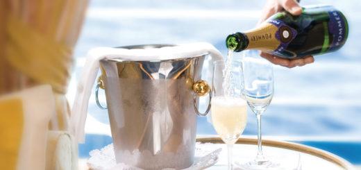 Champagner bei Silversea. Foto: Silversea Cruises