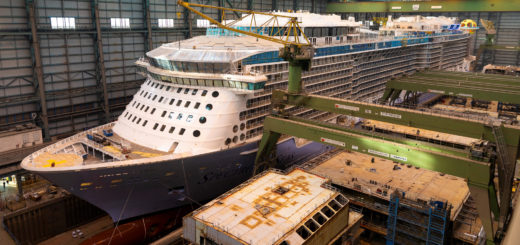 Spectrum of the Seas auf der Meyer Werft. Foto: Meyer Werft