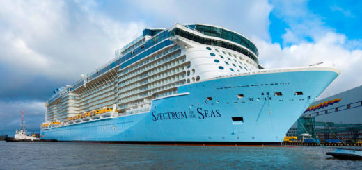 Spectrum of the Seas auf der Meyer Werft