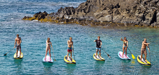 Stand-Up-Paddling mit AIDA. Foto: AIDA Cruises