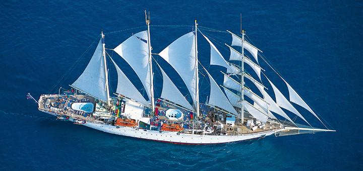 Segelkreuzfahrt mit Star Clippers