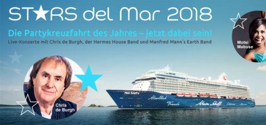Stars del Mar 2018 auf der Mein Schiff 6. Foto: e-hoi.de