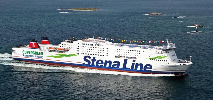 Stena Germanica auf Kurs. Foto: Stena Line