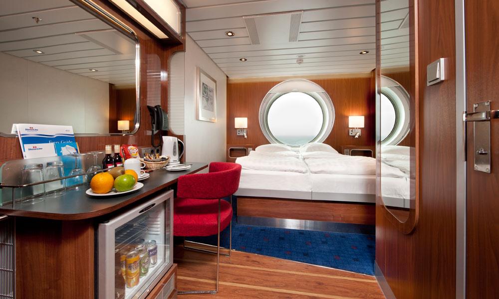 Comfort-Class-Kabine bei Stena Line. Foto: Stena Line