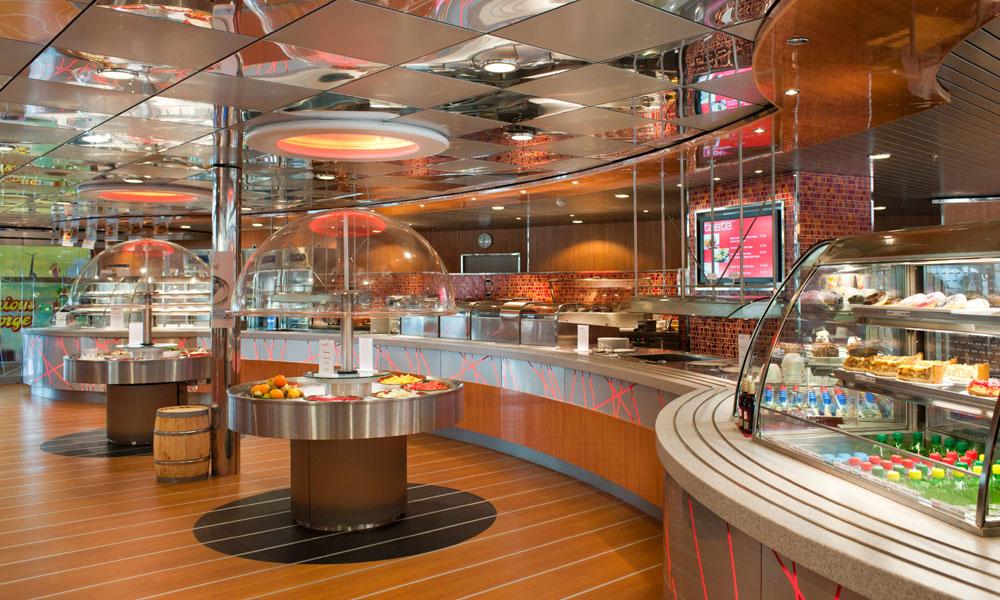 Taste Büfett Restaurant bei Stena Line. Foto: Stena Line