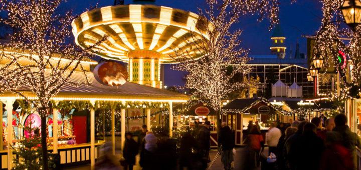 Weihnachten im Liseberg-Park Göteborg. Foto: Stefan Karlberg