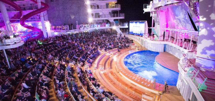 AquaNation Show auf der Symphony of the Seas. Foto: Royal Caribbean International