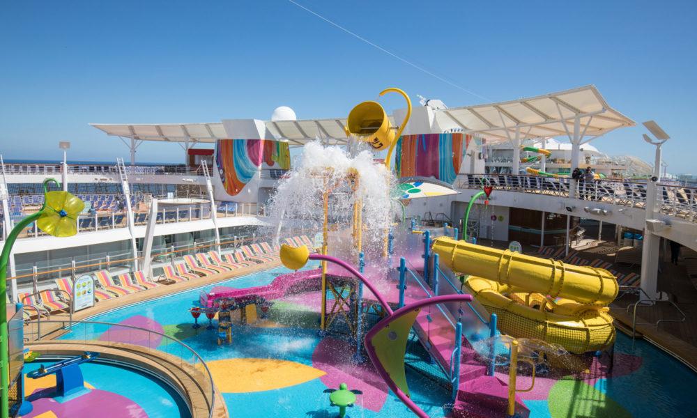 Splashaway Bay der Symphony of the Seas. Foto: Royal Caribbean International