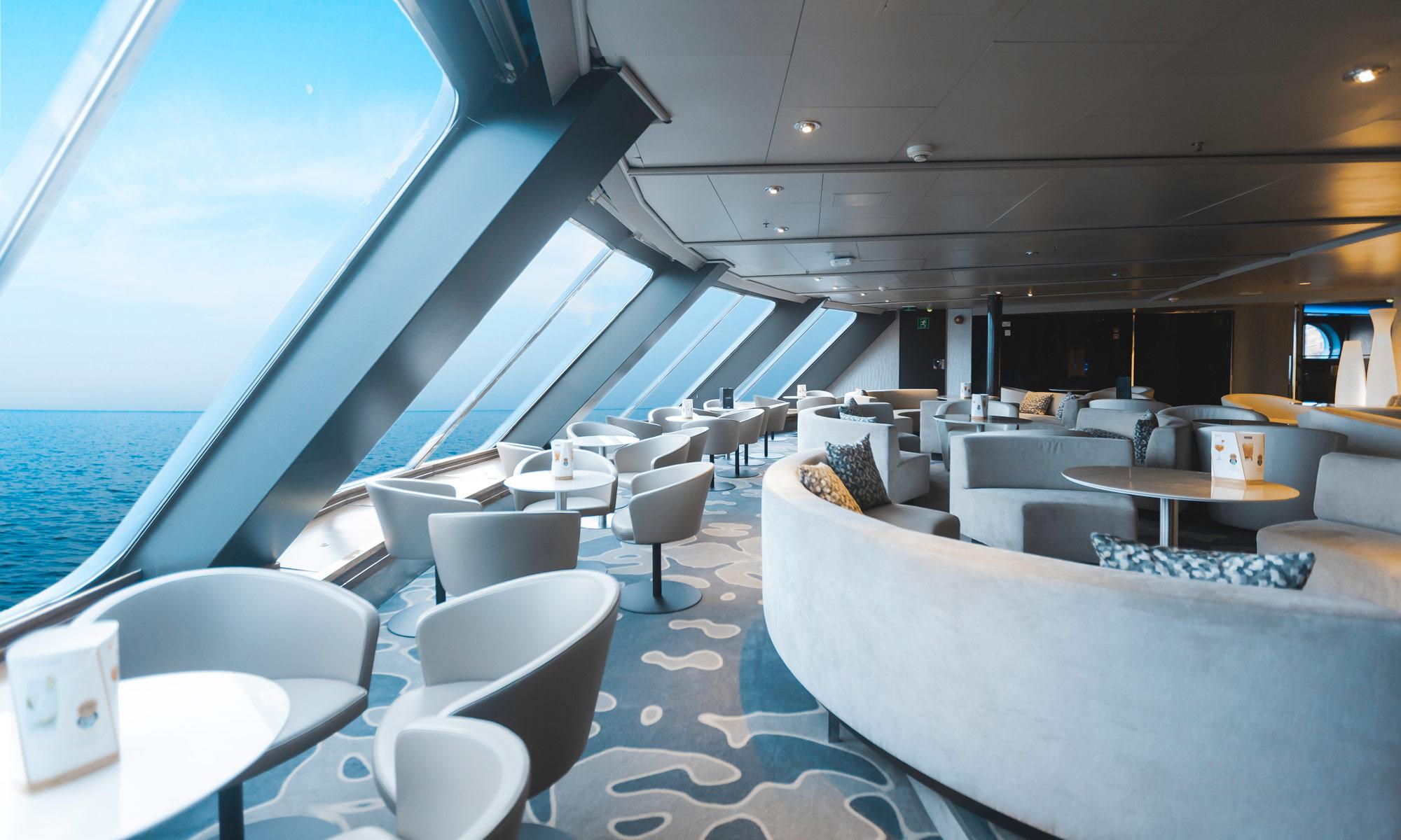 Seaview Lounge bei Tallink Silja