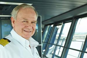 Mein Schiff-Kapitän Kjell Holm. Foto: TUI Cruises