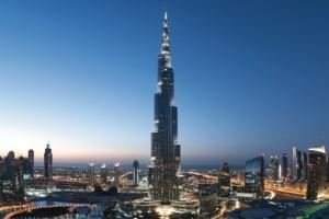 Stadtpanorama von Dubai. Foto: TUI Cruises