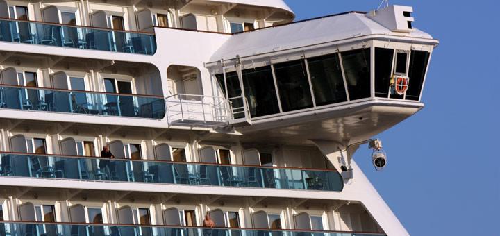 Webcams von Kreuzfahrtschiffen