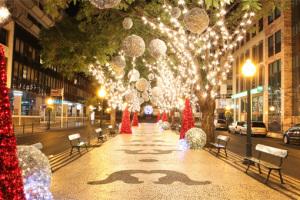 AIDA Weihnachten auf Madeira. Foto: AIDA Cruises