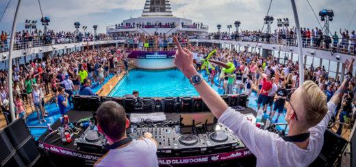 Gestört aber GeiL an Bord der World Club Cruise. Foto: TUI Cruises