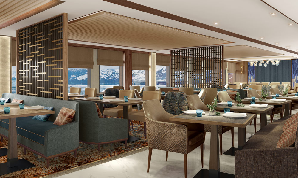 World Explorer Restaurant. Foto: nicko cruises